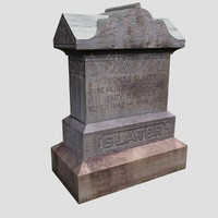 slater grave marker tombstone max