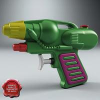 water gun v2 3d x