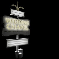 free las vegas wedding chapel 3d model