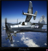 3d curtiss sb2c helldiver bombers model