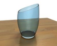 glass vase 3d max