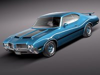Oldsmobile Cutlass 4-4-2 1971