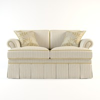 3d chair sofa couch model