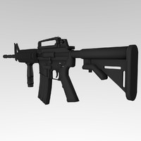 3d colt m4a1 assault rifle