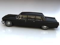 car zil 3d model