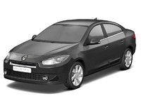 3d model renault fluence