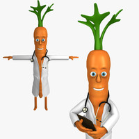 doctor carrot character max