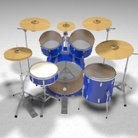 drums percussion c4d