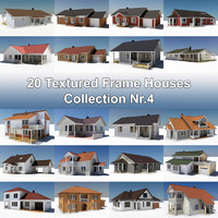 20 Textured Frame Houses Nr.4