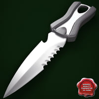 3d oceanic spinner knife v3 model