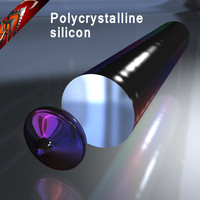 cinema4d polycrystalline silicon crystall