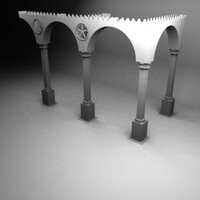 venice gate 3d model