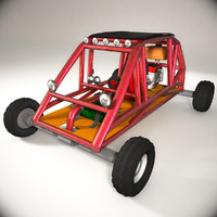 buggy car 3ds
