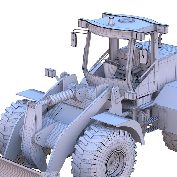 3d bulldozer model - Bulldozer... by dimosbarbos