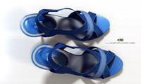 woman sandals 3d model