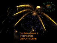 3d fireworks display