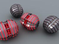 3d thermal grenade model