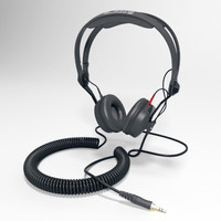 3d model sennheiser hd 25-c ii