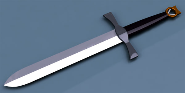 sword 3d model - Mini Sword... by Costinus