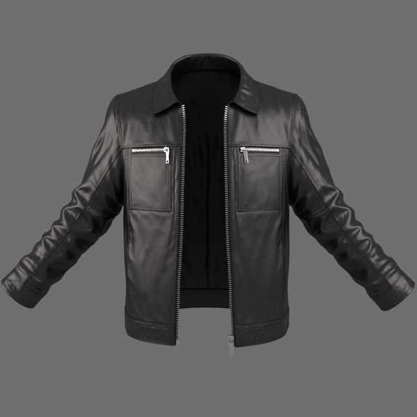 3d model realistic male jacket - Realistic Male Jacket 3d Model... by Bitmapworld