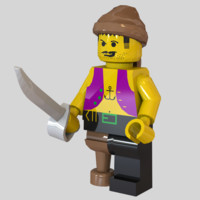 pirate minifigure legs lego 3ds free