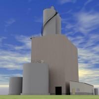 tank building 3d model