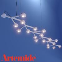 Sospensione LED Ne lineare