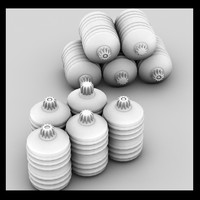 3ds max canister barrel
