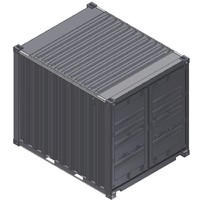 ige 10ft iso shipping container