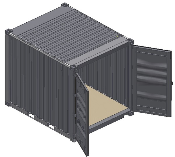 Ige 10ft iso shipping container for Tall shipping container