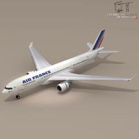 3d model airbus air