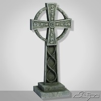 3d model of celtic cross