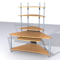 3ds max computer desk