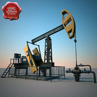 Oil Pump Pumpjack V2