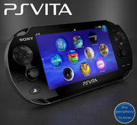 sony playstation vita 3d model