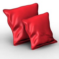 pillow cushion 3d model