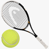 Tennis Racket and Ball Collection