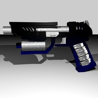 futuristic weapon 3ds