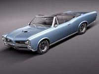 pontiac gto 1966 sport 3d model