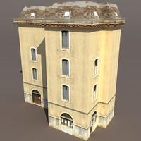 3ds max building exterior