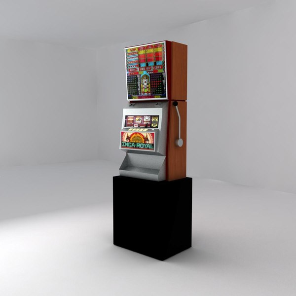 3ds max slot machine - Slot Machine... by linithos