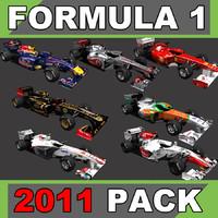 F1 2011 Car Pack