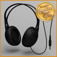 headphone modeled studio 3d 3ds