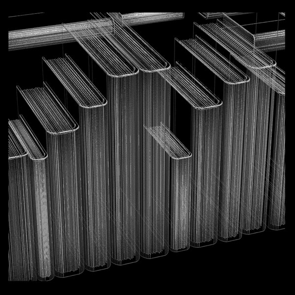 3d model books - Books collection... by Litarvan