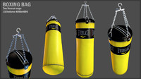 punching bag boxing 3d 3ds