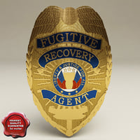 3ds fugitive recovery agent badge