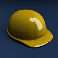 3d hard helmet model