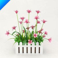 3d model outdoor plant design