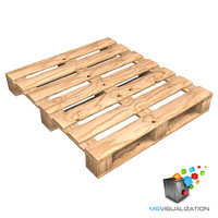 Realistic Wooden Pallet