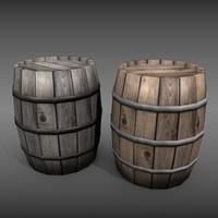 3d barrel games old